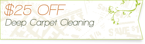 Carpet Cleaning Coupons | $25 off deep cleaning | Guarantee Green