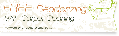 Carpet Cleaning Coupons | free deodorising with carpet cleaning | Guarantee Green