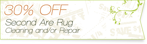 Carpet Cleaning Coupons | 30% off seacond rug cleaning or repair | Guarantee Green