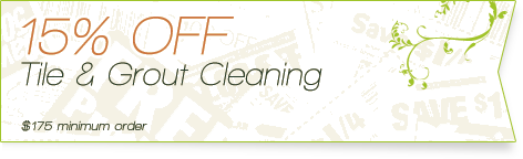 Carpet Cleaning Coupons | 15% off tile & grout cleaning | Guarantee Green