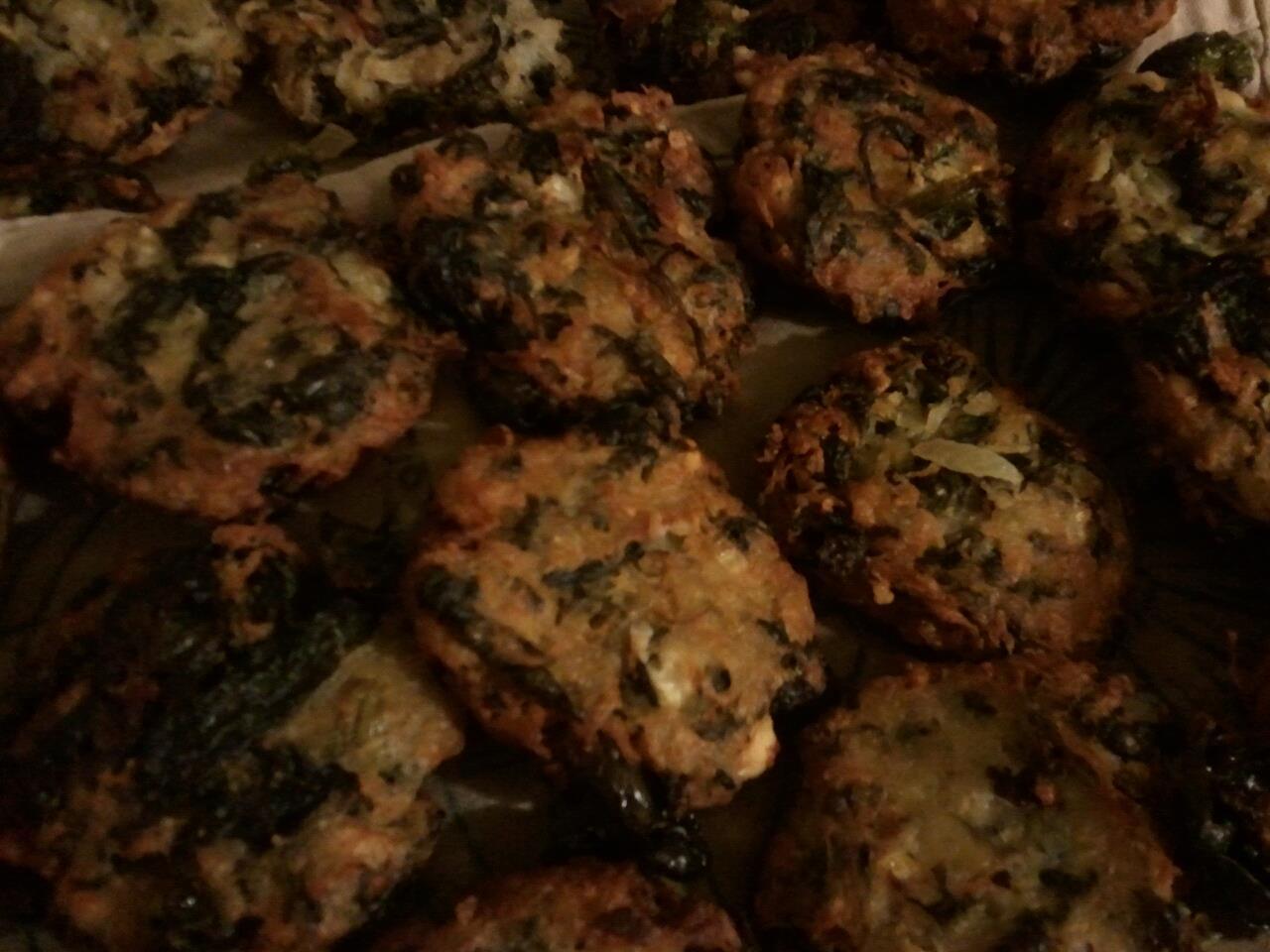 Happy Chanukah: Potato,Spinach and Feta Latkes | Guarantee Green